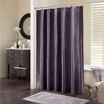 Madison Park Mendocino Fabric Shower Curtain