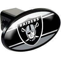 Oakland Raiders Trailer Hitch Cover