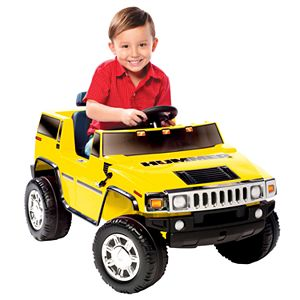National Products Hummer H2 Ride-On - Yellow