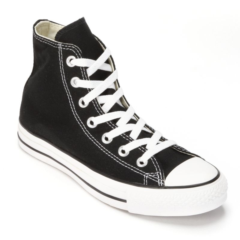 Adult Converse All Star Chuck Taylor High-Top Sneakers, Adult Unisex, Size: M11W13, Black