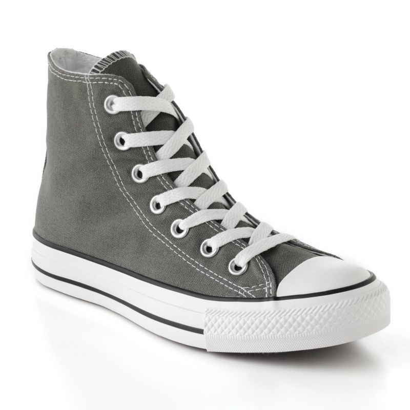 Adult Converse All Star Chuck Taylor High-Top Sneakers, Women's, Size: M12W14, Grey