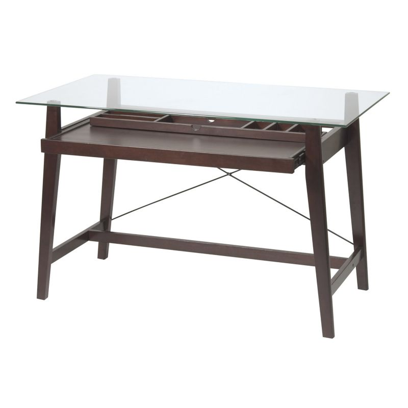 Office Star Products Computer Desk, Brown