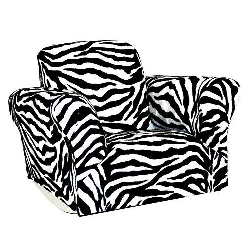 Prime Harmony Kids Zebra Rocking Chair Pabps2019 Chair Design Images Pabps2019Com
