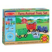 Melissa & Doug Farm Animal Train Set