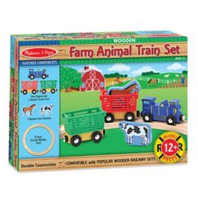 Melissa and Doug Farm Animal Train Set