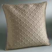 Simply Vera Vera Wang Interlocked Quilted Euro Sham
