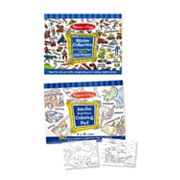 Melissa and Doug Boys Coloring & Sticker Pad Bundle