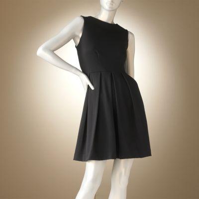 Jennifer Lopez Pleated Ponte Dress