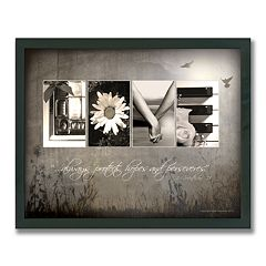 'Love Letters' Framed Canvas Art by Scott Kennedy