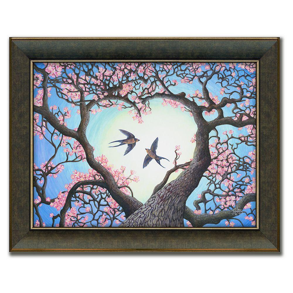 """Heartsong"" Framed Canvas Art by Tyler Kennedy"