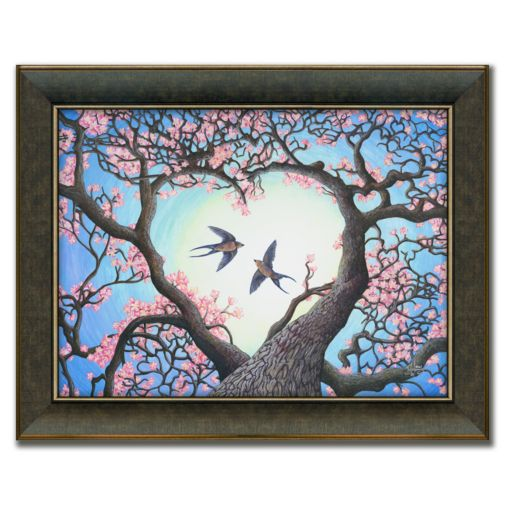 Heartsong Framed Canvas Art by Tyler Kennedy