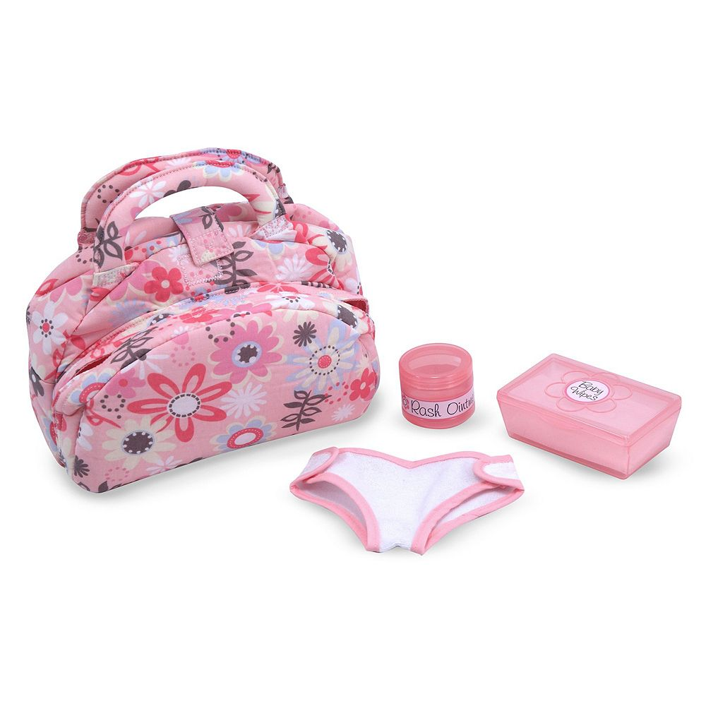 Melissa & Doug Doll Diaper Changing Set