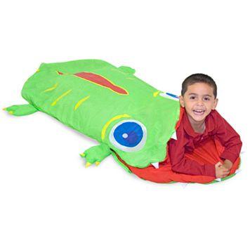 Melissa & Doug Augie Alligator Sleeping Bag