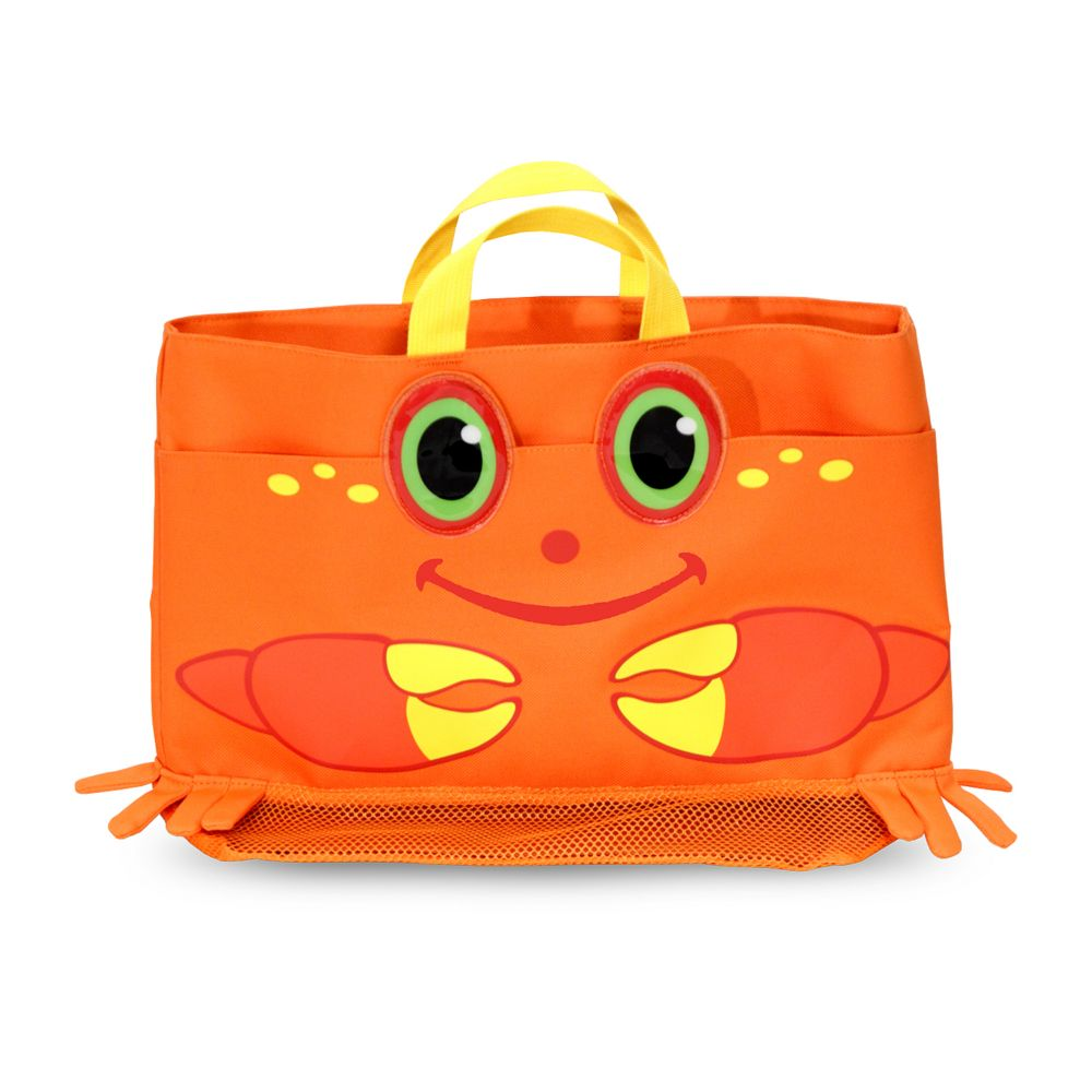 & Doug Clicker Crab Beach Tote Bag