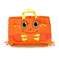 Melissa & Doug Clicker Crab Beach Tote Bag