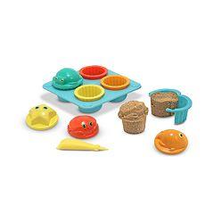 Melissa & Doug Seaside Sidekicks Cupcake Sand-Molding Set