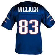 Reebok New England Patriots Wes Welker Fitted Jersey - Girls' 7-16