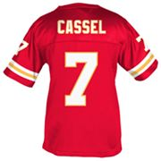 Reebok Kansas City Chiefs Matt Cassel Fitted Jersey - Girls' 7-16
