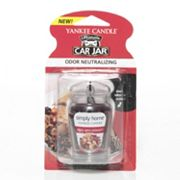 Yankee Candle simply home Car Jar Ultimate Apple Spice Potpourri Air Freshener