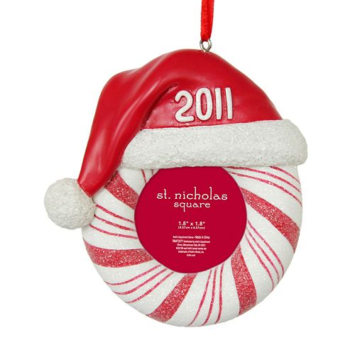 St nicholas square 2011 picture frame ornament