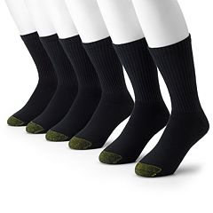 Men's GOLDTOE 6-pack Athletic Crew Socks