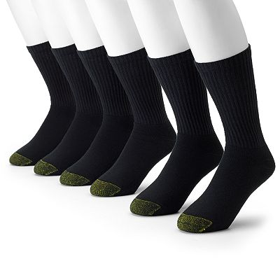 GOLDTOE 6-pk. Athletic Crew Socks