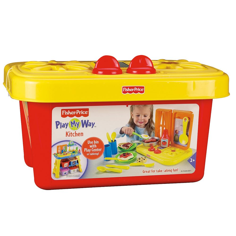 details about new fisher price play my way kitchen girls birthday toy
