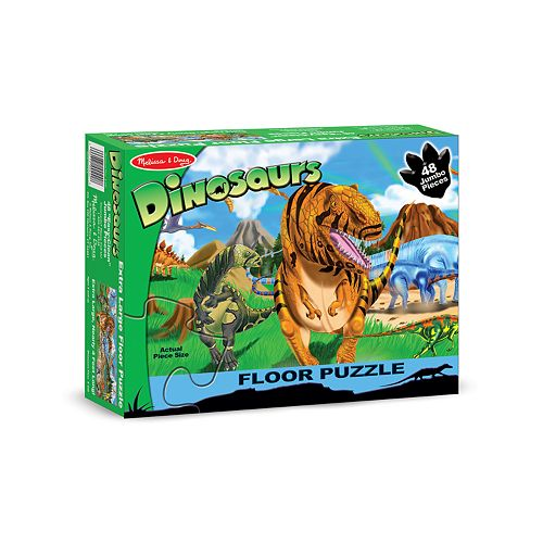 Melissa & Doug Land of Dinosaurs Floor Puzzle