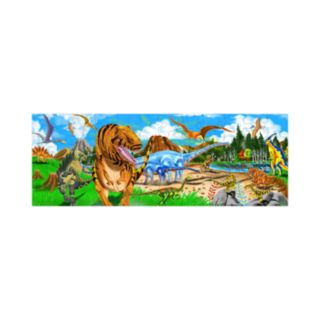 Melissa and Doug Land of Dinosaurs Floor Puzzle