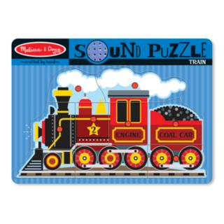 Melissa and Doug Train Sound Puzzle