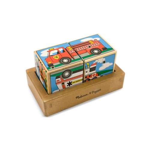 Melissa and Doug Vehicles Sound Blocks