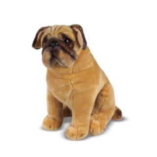 Melissa and Doug Pug Dog Plush