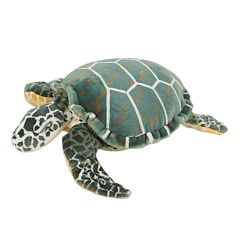 Melissa & Doug Sea Turtle Plush Toy