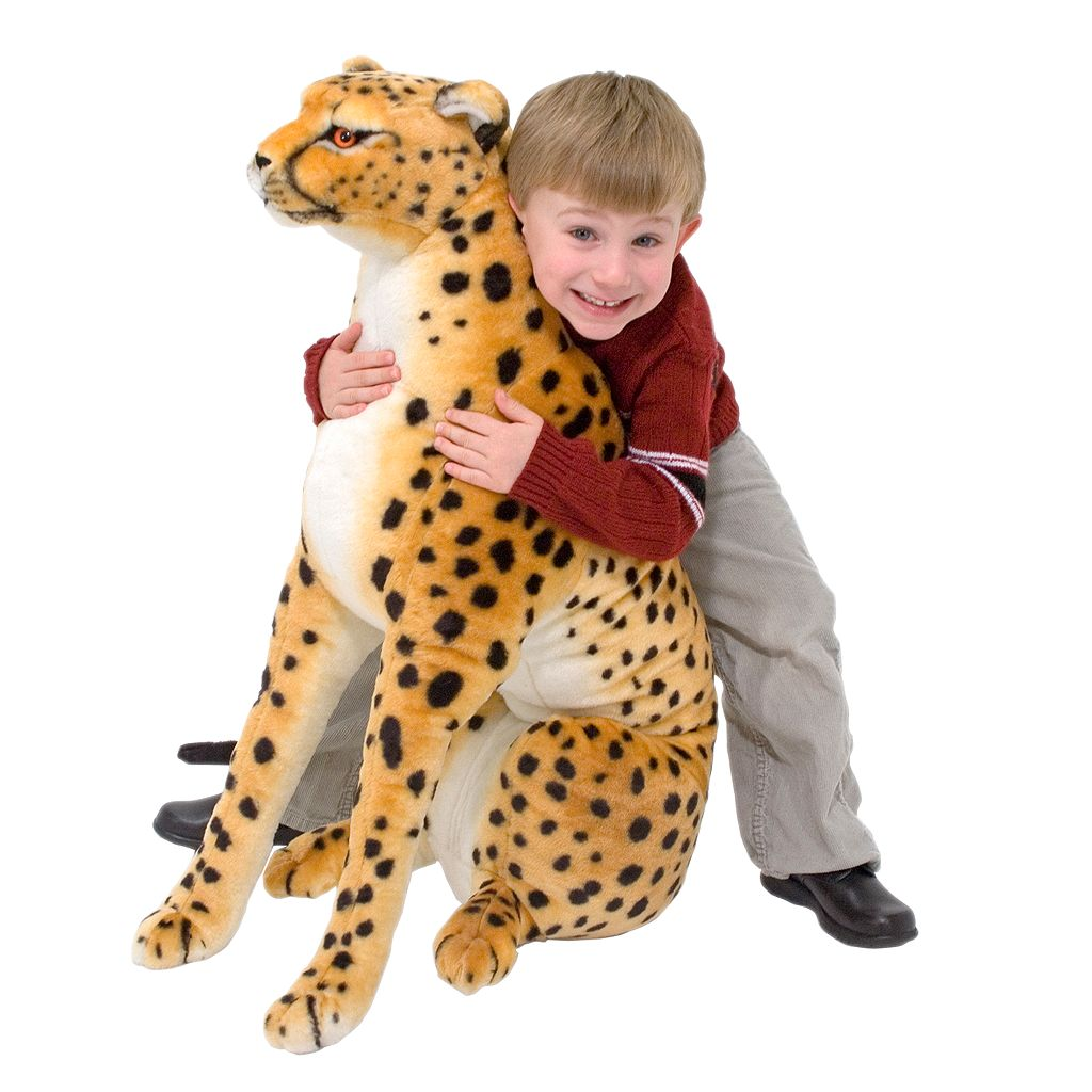 Melissa and Doug Cheetah Plush Toy