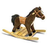 Melissa & Doug Rock & Trot Plush Rocking Horse