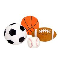 Melissa & Doug Plush Sports Ball Pillows