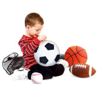 Melissa and Doug Plush Sports Ball Pillows