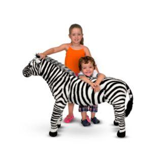 Melissa and Doug Zebra Plush Toy