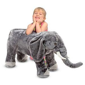 Melissa & Doug Elephant Plush Toy