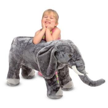 Melissa and Doug Elephant Plush Toy