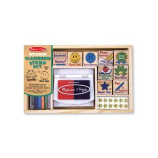 Melissa and Doug Classroom Stamp Set