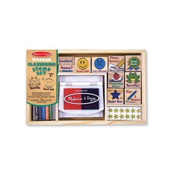 Melissa & Doug Classroom Stamp Set