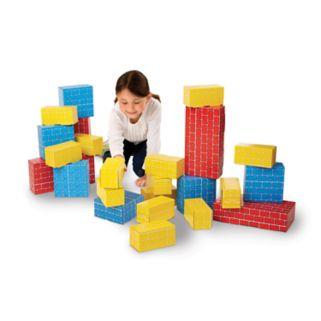 Melissa and Doug 24-pc. Jumbo Cardboard Blocks Set