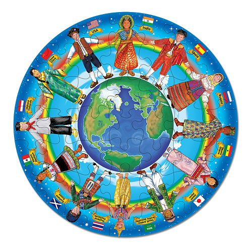 Melissa & Doug 48-pc. Children of the World Floor Puzzle