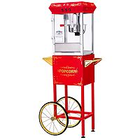 Great Northern All-Star 8-oz. Popcorn Machine with Cart