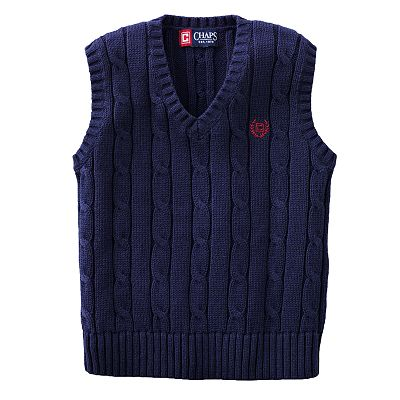 Chaps Cable-Knit Sweater Vest - Toddler