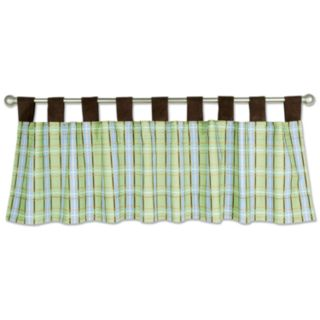 Trend Lab Baby Barnyard Plaid Window Valance