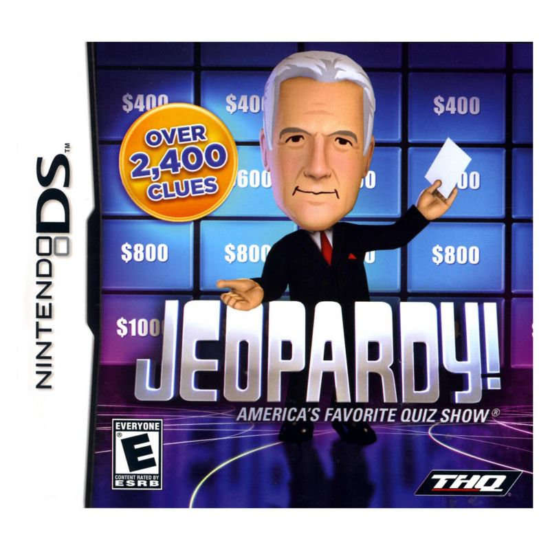 Clever Jeopardy Categories: Online Jeopardy! For Nintendo DS, Multicolor For Christmas