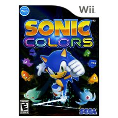 Sonic Colors for Nintendo Wii