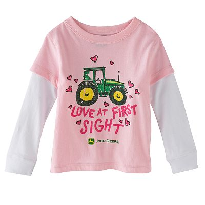 John Deere Mock-Layer Love at First Sight Tee - Toddler